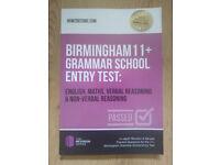11+ Exercise Book for Grammar School