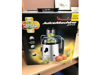 Moulinex Juice Machine Pro used 5 times. Still in box