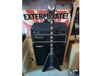 Dean Stealth V bass