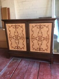 Sideboard - solid - with detailed front.