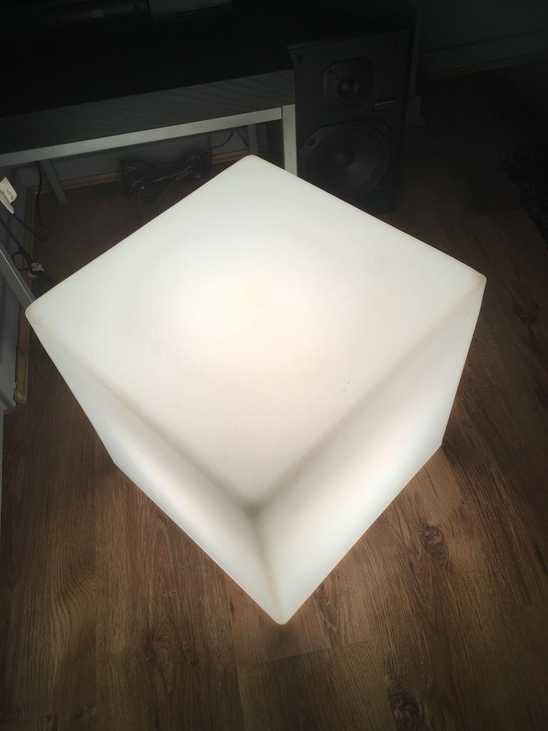 Muji cube floor lamp in roundhay west yorkshire gumtree muji cube floor lamp aloadofball Images