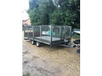 Staffordshire beaver tail trailer