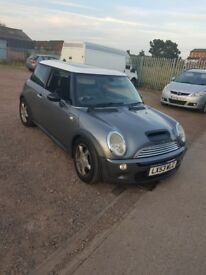 mini cooper s mot til feb