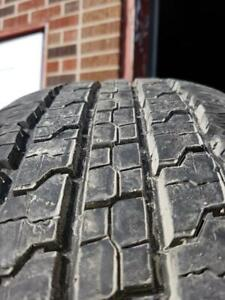 4 Used P275/65/18 Goodyear Wrangler Fortitude HT