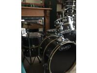 Mapex V series 4pce drum kit with cymbals