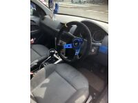 Blue omp steering wheel with Vauxhall hub/boss kit