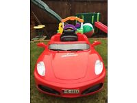Children's Electronic Red Sports Car