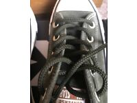 NEW Suede Green Converse Pumps in Box Size 4