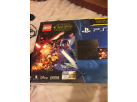 PS4 500GB Console, LEGO Star Wars Game and Star Wars Blu-Ray