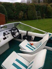 Fletcher Arrowflyte Speedboat - 50HP Outboard