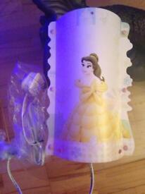 CHRISTMAS girls Disney beauty and beast belle Cinderella lamp