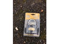 Tool box cast iron padlock
