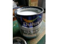 Dulux timeless kitchen paint hardly used