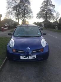 NISSAN MICRA 1.0 3dr