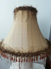 Vintage Table Lamp Shade 30 Cm Tall