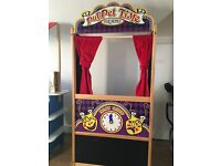 Melissa and Doug wooden puppet theatre