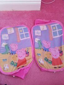 Peppa pig bedroom items