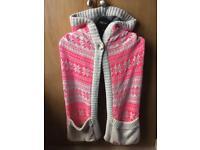 Superdry hooded scarf