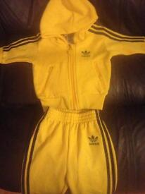 New adidas baby tracksuit matching postage available baby clothes