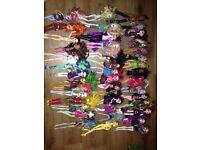 Monster high dolls - job lot 43 dolls £80