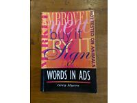 Words in Ads by Greg Myers