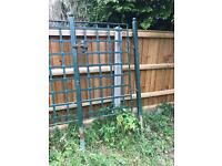 Heavy duty metal fencing and gates