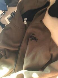 Hype zip up jumper