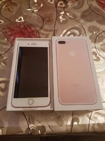 iPhone 7 Rose Gold 128GB on O2 Network