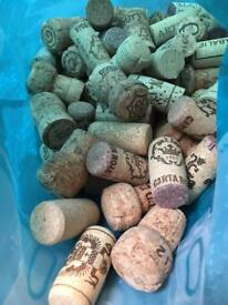 Used real corks for craft x100