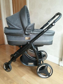 Bebecar ip-op pram and pushchair