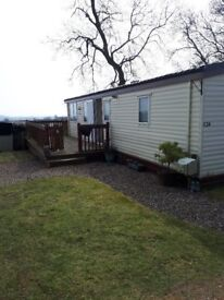 2006 Atlas Ruby super Caravan, 35ft x 12ft, sited at Blairgowrie Holiday Park