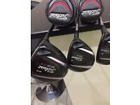 Titleist 913 driver 3 wood and rescue immaculate