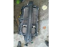 Ford fiesta mk7.5 1.0 ecoboost complete rad pack and slam panel