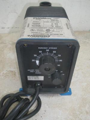 Pulsatron Series E Metering Pump Le13sa-ptc1-n06 115vac