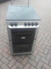 Zanussi free standing 500mm wide fan cooker