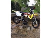 Suzuki RM250 Spares or repair