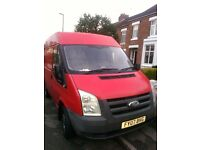 Man and van for removal services and for hire