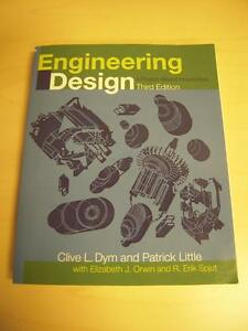 Engineering Design – A Project-Based Introduction 3rd Edition