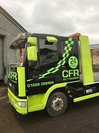 Car/van recovery services