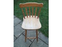 """Wooden Spindle """"Kitchen"""" Chair"""