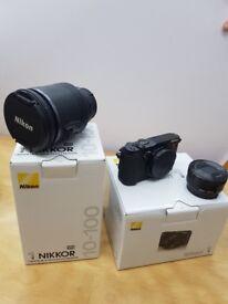 NIKON 1V3 AND 2 LENS. Brand new in box