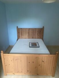 Nice quality double bed for free