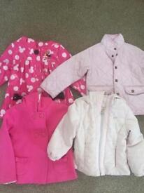 Girls jacket bundle age 3-4