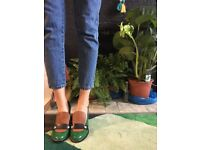 Loafer style heels