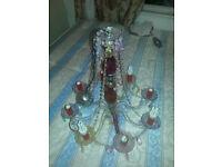 Vintage Victorian Designed Chandelier {8 Light bulb holder}