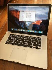 MacBook Pro 15-inch, mid 2012