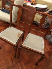 Pair of small chairs