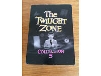 THE TWIGHT ZONE COLLECTION 5 DVDs-NEW