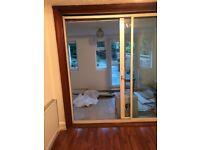 External sliding patio door