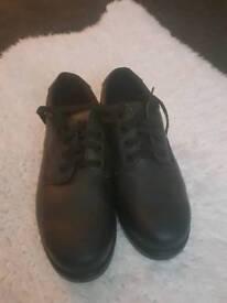 Men's Size 10 Steel Toe Caps Shoes